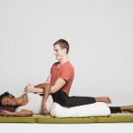 side-lying massage