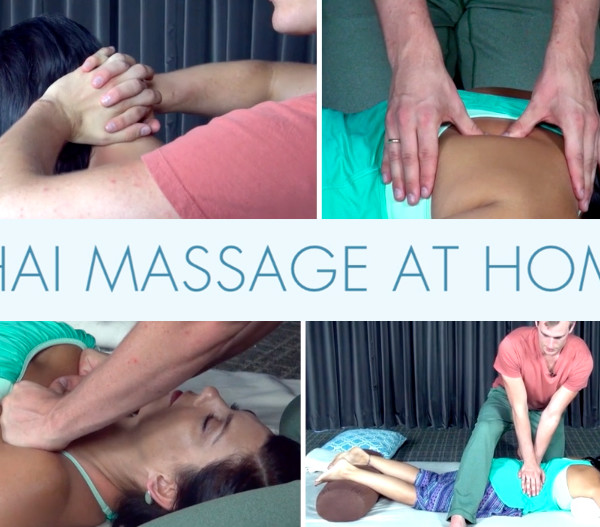 Thai Massage At Home Online Video Course Feature Image